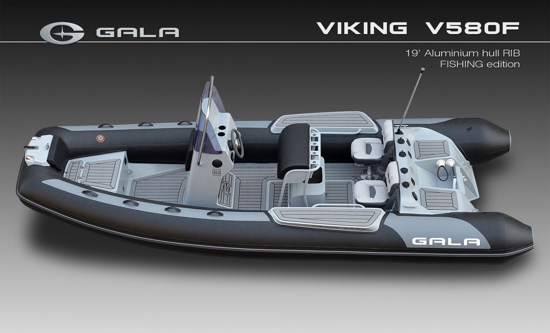 VIKING V580 FISHING/PECHE